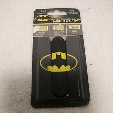 New Batman Mobile Wallet 3-in-1 Cell Phone Stand, Cord Keeper, Card Holder â'©