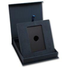 "APMEX Presentation Gift Box for 1 oz GOLD or PLATINUM Bar /w Assay 2"" x 3-1/4"""