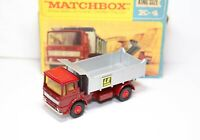 Matchbox Kingsize K-4 Leyland Tipper Truck In Its Original Box - Near Mint Model