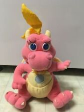 "Playskool Cassie 12"" Dragon Tales Pink Plush Toy Stuffed Animal 1999-Numered 431"