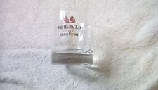 WHYTE & MACKAY SPECIAL SCOTCH WHISKY GLASS 8CM DIAMETER QUITE HEAVY