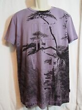 Moschino Men's Lavender T-shirt size X Large