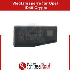 ID40 Transponder Chip Wegfahrsperre Crypto für Opel Vauxhall ID 40 Auto Neu