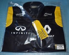 chemise manches courtes RENAULT SPORT FORMULA ONE TEAM REPLICA F1 taille M neuf