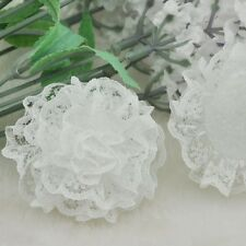 20/100PC Lots Big 62mm the lace small volume spend Flower Craft/Appliques A0184
