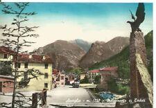 170037 CUNEO ACCEGLIO - MONUMENTO ai CADUTI Cartolina FOTOGRAFICA viaggiata 1965