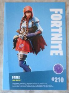 Trading Cards FORTNITE Serie 1 : FAIBLE # 210, Epic Outfit