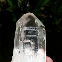 94g Clear Etched Himalaya Nirvana Quartz Natural Interference Crystal Specimen
