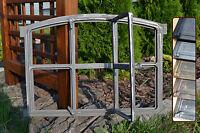 567 x 423mm Neu Fenster mit Tür,Stallfenster,Gussfenster, Eisenfenster,Scheunen