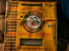 Vintage Christmas Lights New Old Stock Kodak Mini White Sealed Retro In Out Door