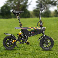 DOHIKER E-Folding Electric Bike Collapsible Bicycle Aluminum Alloy 12 Inch
