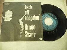 "RINGO STARR(BEATLES)""BACK OFF BOOGALOO- disco 45 giri APPLE Italy 1972"""
