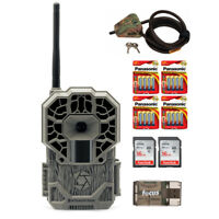 Stealth Cam Wireless Cellular 22MP Trail Camera w/ 2 Memory Cards and Cable Lock