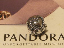 AUTHENTIC PANDORA SILVER CHAIN OF HEARTS CHARM - 790448