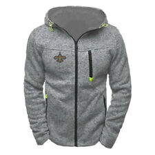 New Orleans Saints Hoodie Men's Sweatshirts Football Training Hooded Jacket Coat
