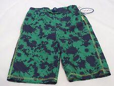 Boys Youth Coppertone 5 swim trunks shorts green pro Tex premium sun protection