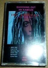 Ini Kamoze - Shocking Out / MC / 1988 / OVP Sealed / RAS / Reggae Cassette Tape