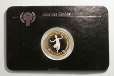 Thailand 200 Baht 1981 Silver Proof Coin Thai Rama IX Year of the Child