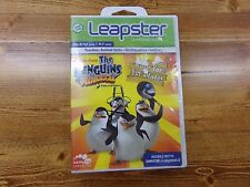 LEAP FROG Leapster Game The Penguins of Madagascar Race for 1st Place! NEW