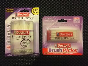 275 picks + 60 picks The Doctor's Brushpicks plastic pick toothpick Toothpicks
