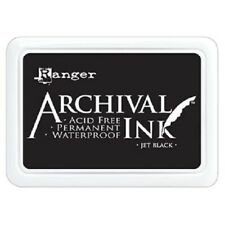 Ranger Jet Black Archival Ink Pad AIP31468