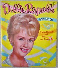 Paperdolls Debbie Reynolds TV Star mint uncut paperdoll booklet 1962