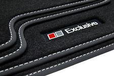 Exclusive Line Fußmatten für Audi A4 B9 8W Avant Kombi Limo S-Line Bj. 2016-