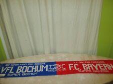 """FC Bayern München/VfL Bochum Original Fan Freundschaft Schal """"IN FREUNDSCHAFT"""""""