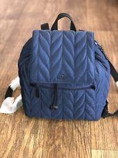 Kate Spade Wkru5825 Large Flap Backpack Ellie Nightcap - Dark Blue