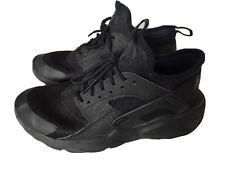 Womens Nike Air Huarache Wolf Black Trainers Size Uk 5 / Eu 38  847569-004