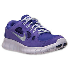 NIKE Free 5.0 GS Running Shoes NIB Girls Youth Sz 5 /37 Purple LEATHER