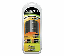 Duracell Multi Battery Charger for Rechargeable Batteries AA AAA C D 9v CEF22