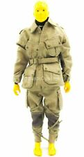 1/12 Scale Toy - WWII - Rescue Team - Tan Military Uniform Set