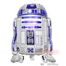 60cm Star Wars Force Awakens R2-D2 Foil Balloon Boy Girl Party Favor Supply