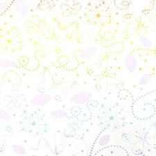 Süß! Kinder Tapete Kids@Home 72299 Disney Feen Schmetterlinge Blumen Sterne bunt