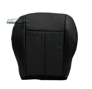 2008-2010 Chrysler 300, Touring, LX Driver Bottom Leather Seat Cover Dark Gray