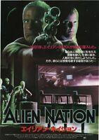 Alien Nation 1988 Graham Baker Japanese Movie Chirashi Flyer Poster Japan B5