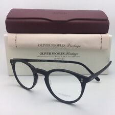 OLIVER PEOPLES VINTAGE Eyeglasses O'MALLEY OV 5183 1465 45-22 Matte Black Frames