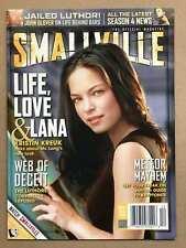 Smallville Official Magazine #3 (Vf/Nm) Kristen Kreuk Lanan Lang - Superman Tv