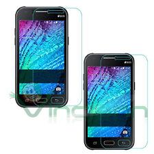 2X Pellicola protettiva display TRASPARENTE per Samsung Galaxy J1 protezione