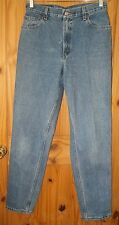 Levi's 550 Relaxed Fit Tapered Leg Indigo Wash Jeans, 30 x 33, Womens 12 L. J185