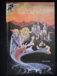 ROCK FANTASY 3 MUSIC COMIC 1ST PRINT LED ZEPPELIN PLANT PAGE BONHAM 1990 FN+