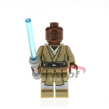 Mace Windu Star Wars Minifigure figure Jedi  custom Clone Wars Cartoon