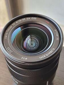 Sony Vario-Tessar FE 16-35mm F4 ZA OSS T* Full Frame E-Mount Zeiss Lens SEL1635Z