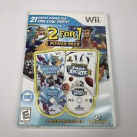 2 for 1 Power Pack: Winter Sports/Summer Sports 2 (Nintendo Wii) Complete, Rare