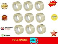 12 Strong Crossweave Cross weave 50mm x 50m Reinforced Parcel Tape