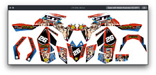 Fits Suzuki LTR 450 ATV stickers decals graphics kit All years decal kit