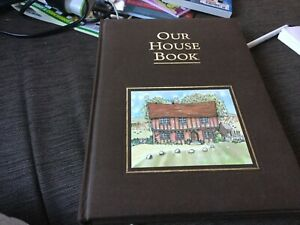 OUR HOUSE BOOK archival digest, hardcover, opened never used unwanted gift