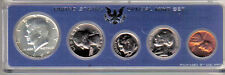 1966 P US Special MintSet Original Box 40% Silver Kennedy  5 Coins Uncirculated