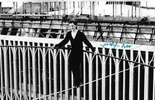 Philippe Petit auto/signed World Trade Towers Wire Walker Very RARE COA LOOK!